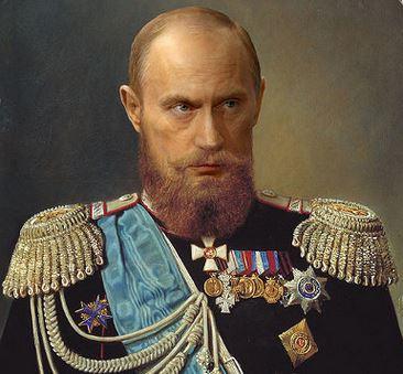 царь путин