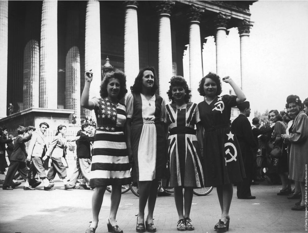 париж 1945