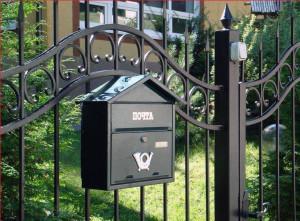 Уличный почтовый ящик с флажком своими руками