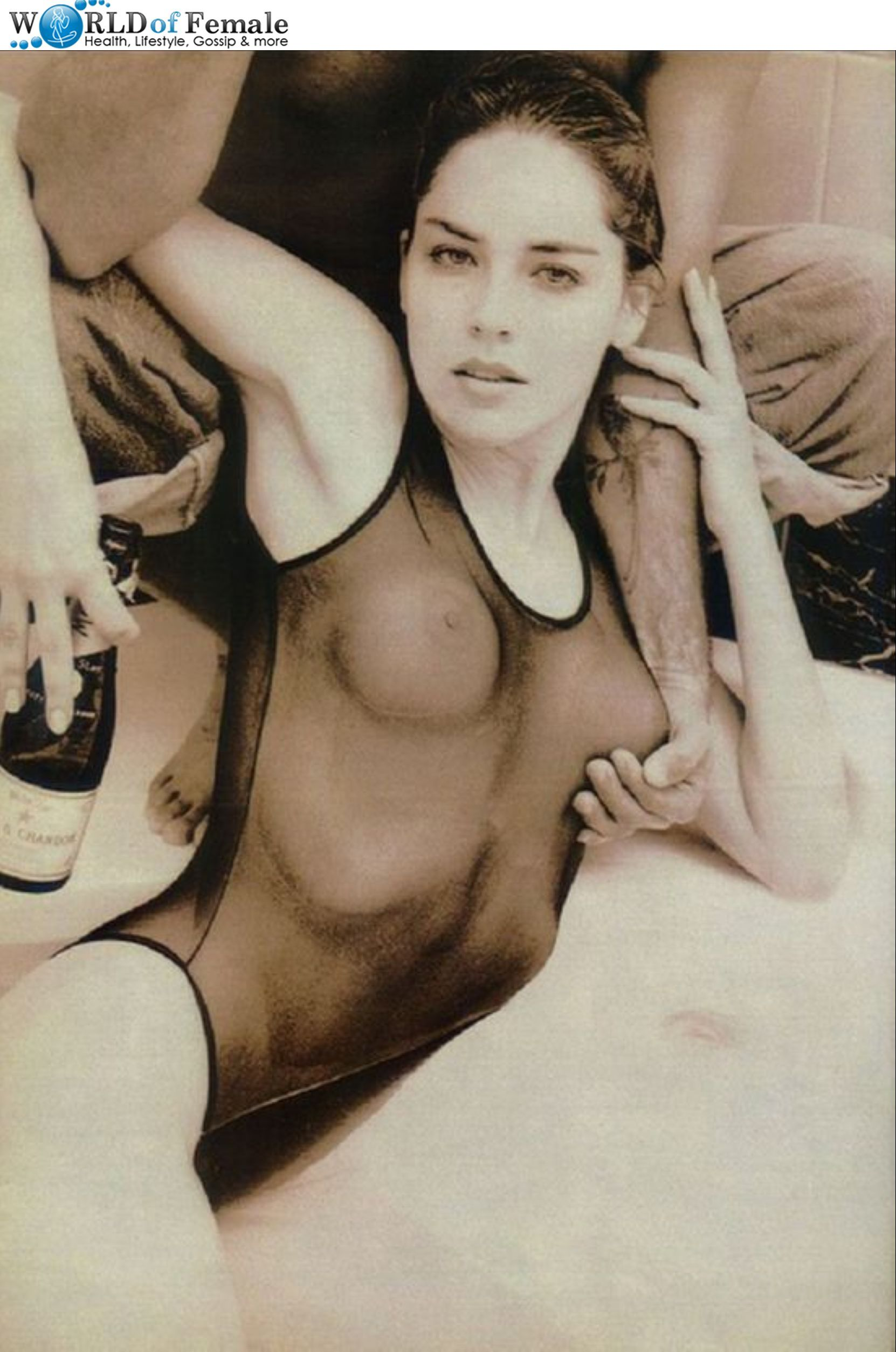 Порно с актрисой шерон стоун
