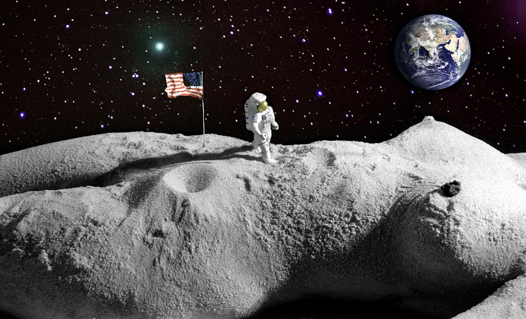 21 июля - 1969 г. человек впервые ступил на поверхность Луны.jpg