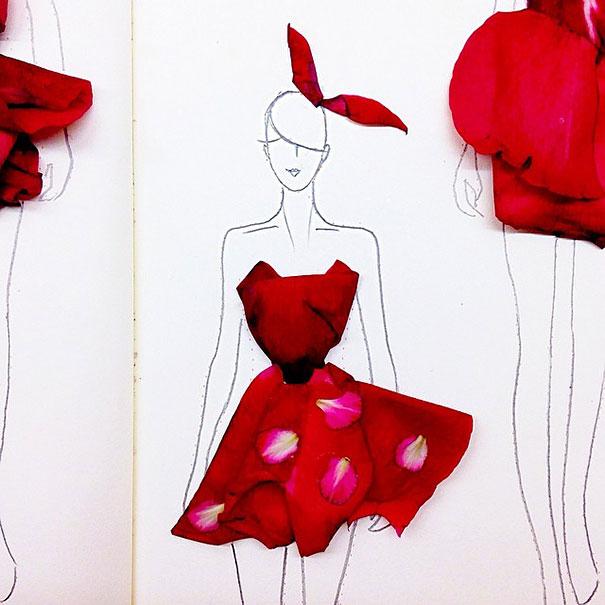 fashion-illustrations-flower-petals-grace-ciao-6__605