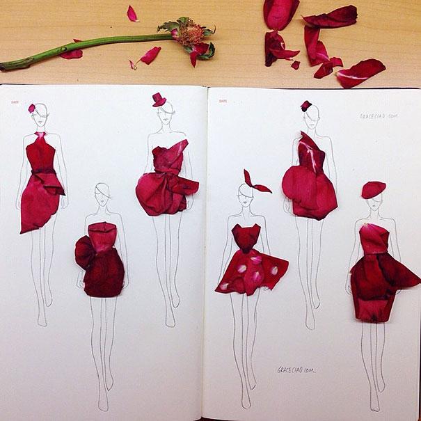 fashion-illustrations-flower-petals-grace-ciao-7__605