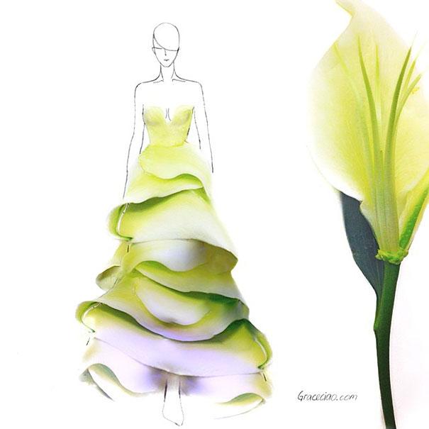 fashion-illustrations-flower-petals-grace-ciao-8__605