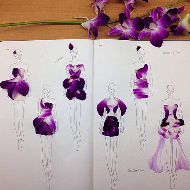 fashion-illustrations-flower-petals-grace-ciao-9__605