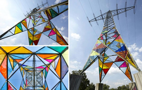 Art-Students-Transform-an-Electrical-Tower-into-Stained-Glass-Lighthouse-10