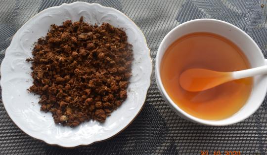 яблочный гранулированный чай