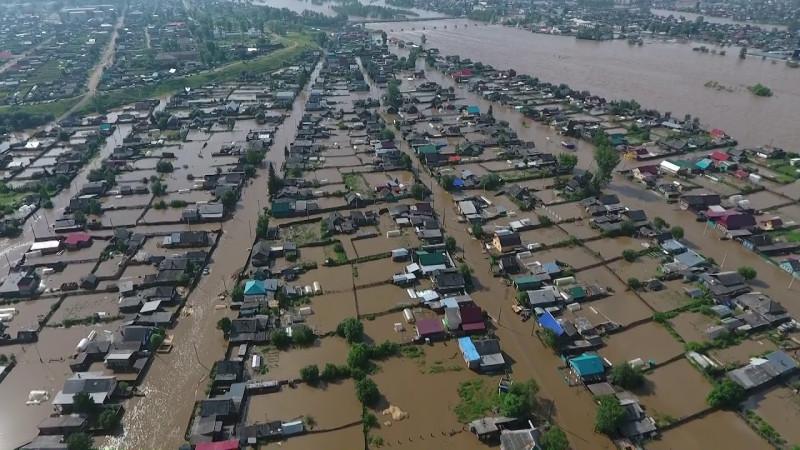 фото из интернета. Наводнение 2019 г.. г. Нижнеудинск