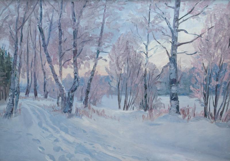 Паздников И.В. Зимний вечер