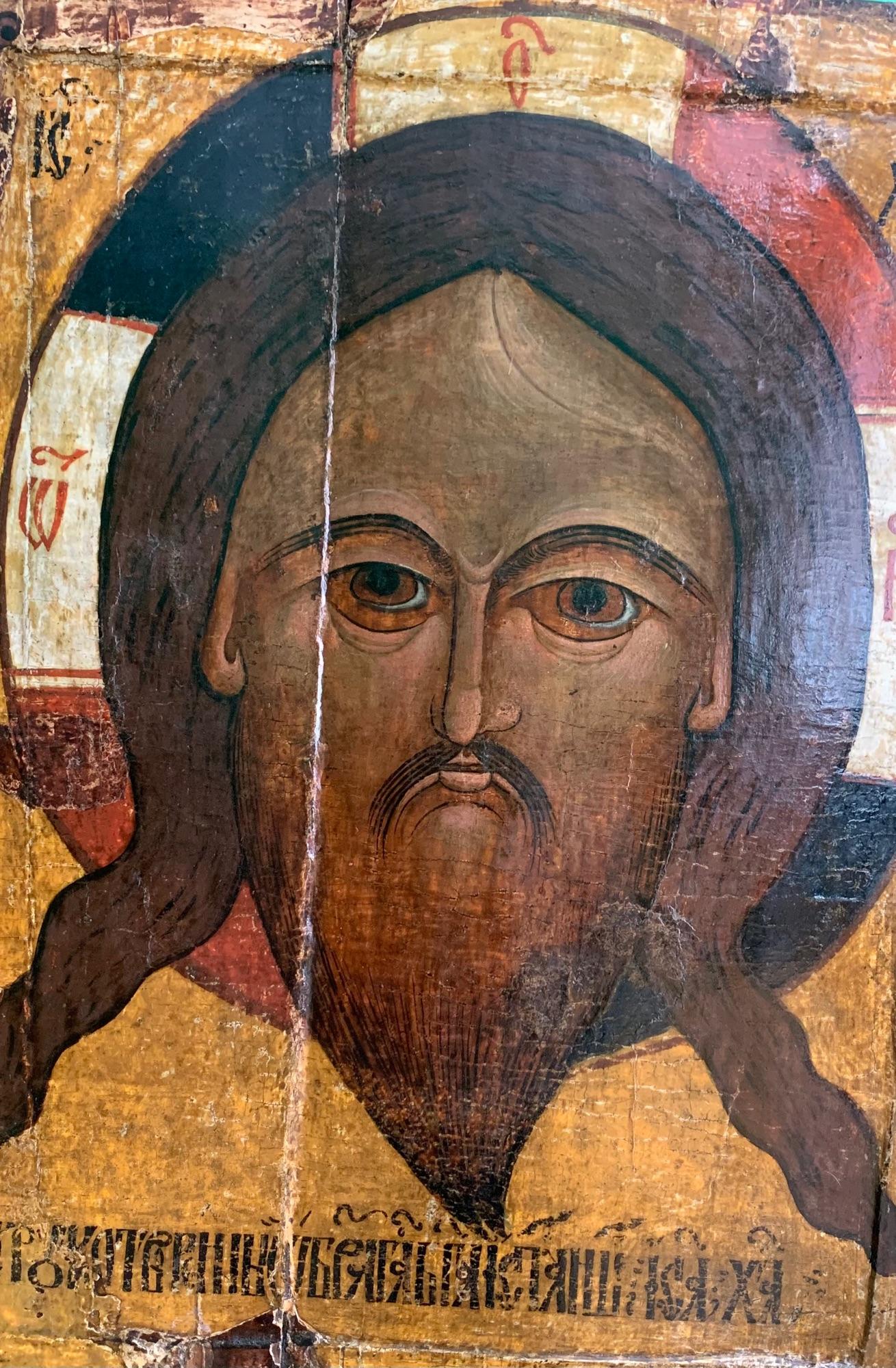 Спас Нерукотворный Мокрая брала, 16 век