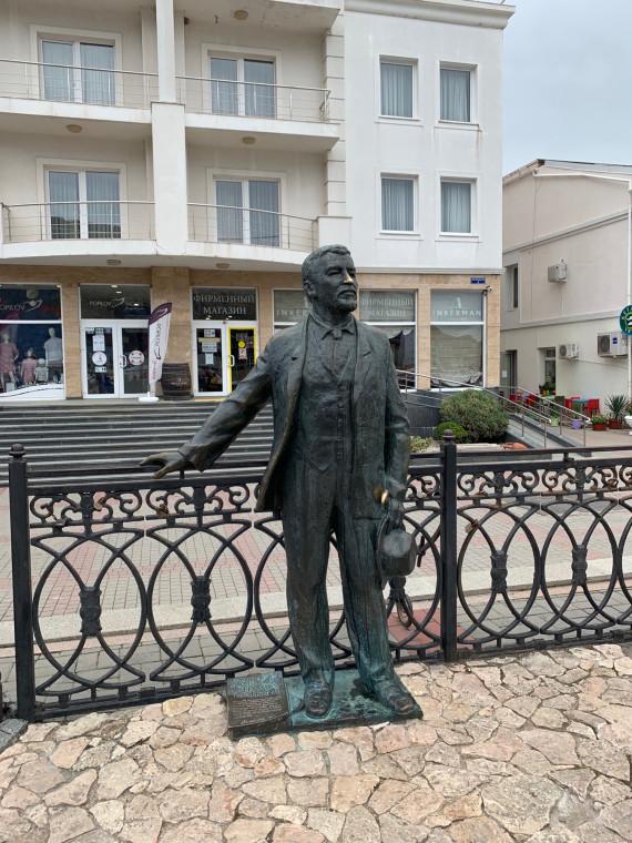 Александр Куприн в Балаклаве