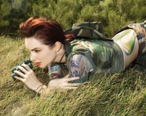 cutcaster-photo-100139898-Woman-with-binoculars