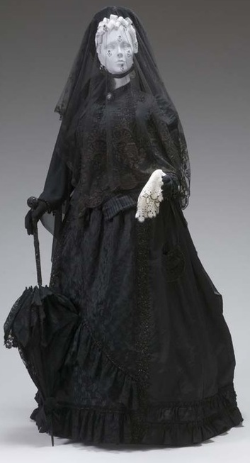 1880s Mourning Ensemble  The Mint Museum