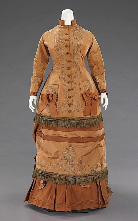 1872 Afternoon Dress  The Metropolitan Museum of Art