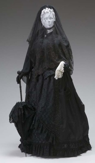 1880 Mourning Ensemble The Mint Museum