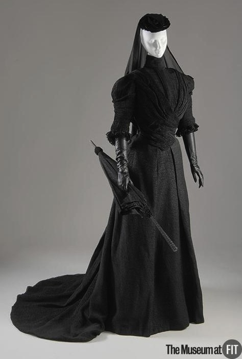 1907 Mourning Ensemble The Museum at FIT