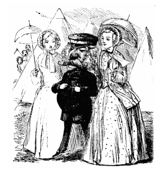 1853 July Mr.Punch with Ladies