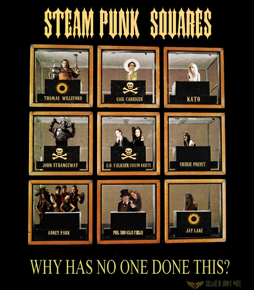 Steampunk Squares
