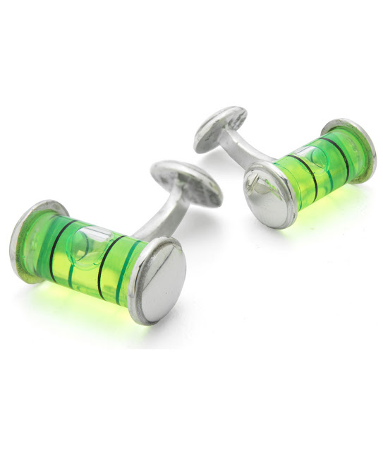 Level cufflinks at uncommongoods.com