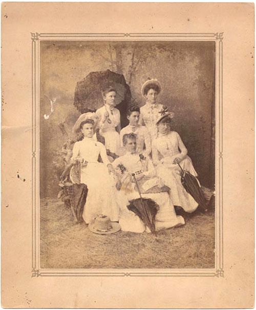 1888 Graduates, Ladies' Annex