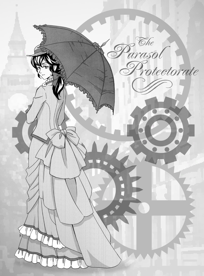 FanArtThe Parasol Protectoratemangaka-chan