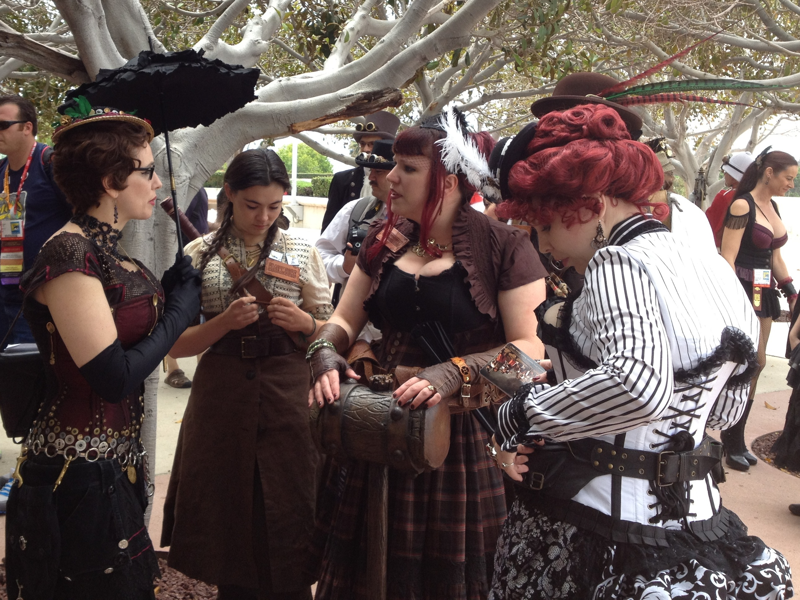 Teh Steampunk Gathering on Saturday