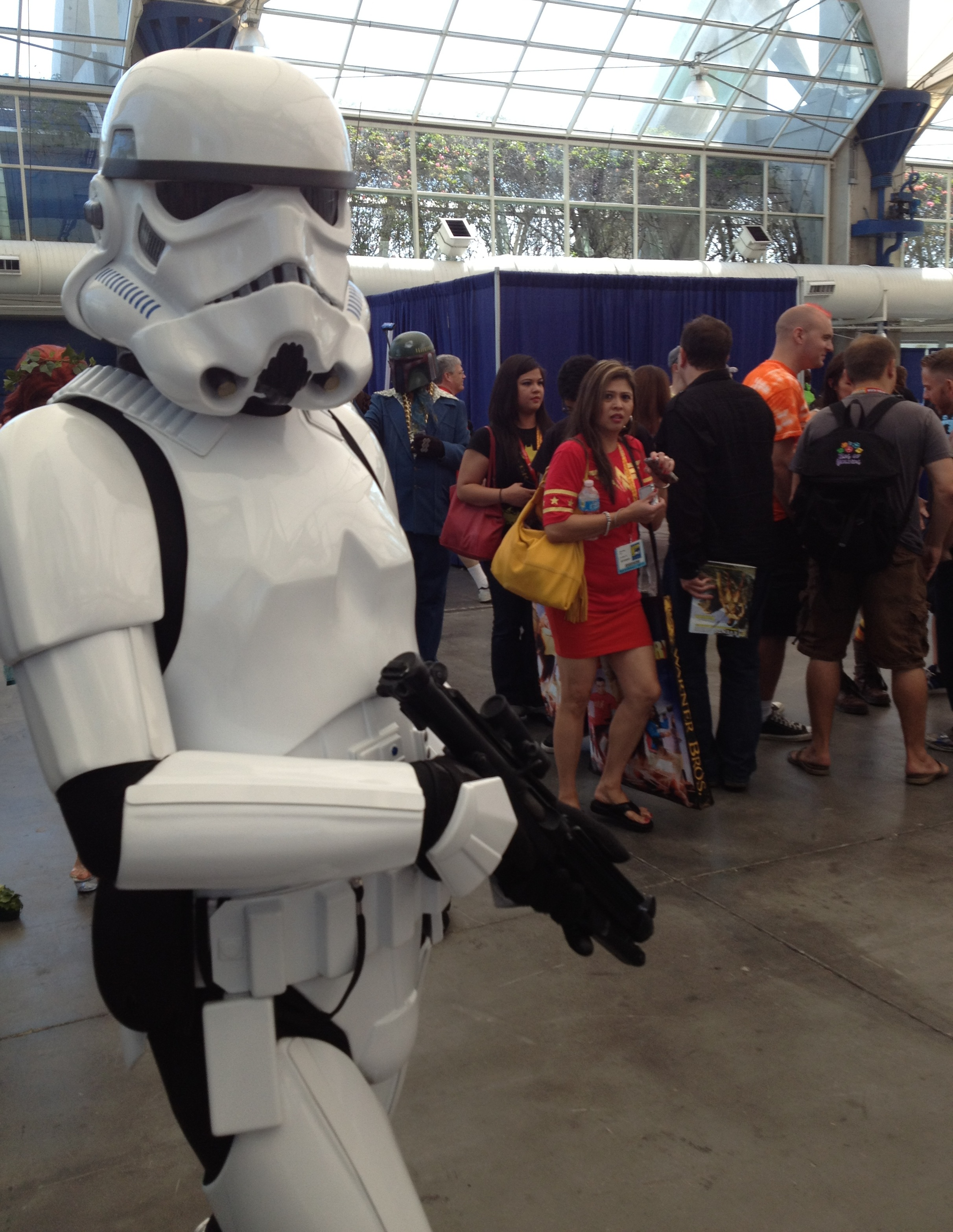 Spotted Storm Trooper!