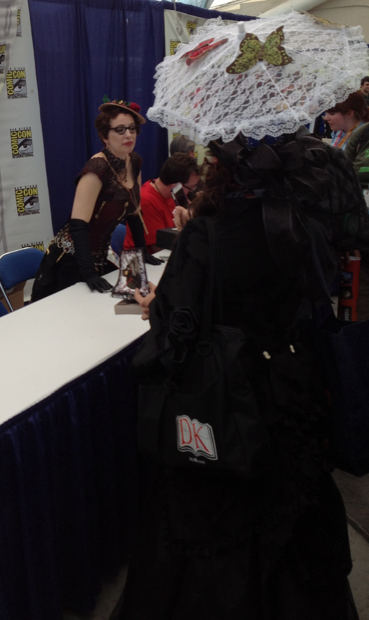 Spotted in the wilds of SDCC 2012