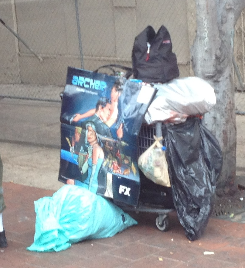 Comic Con Trash