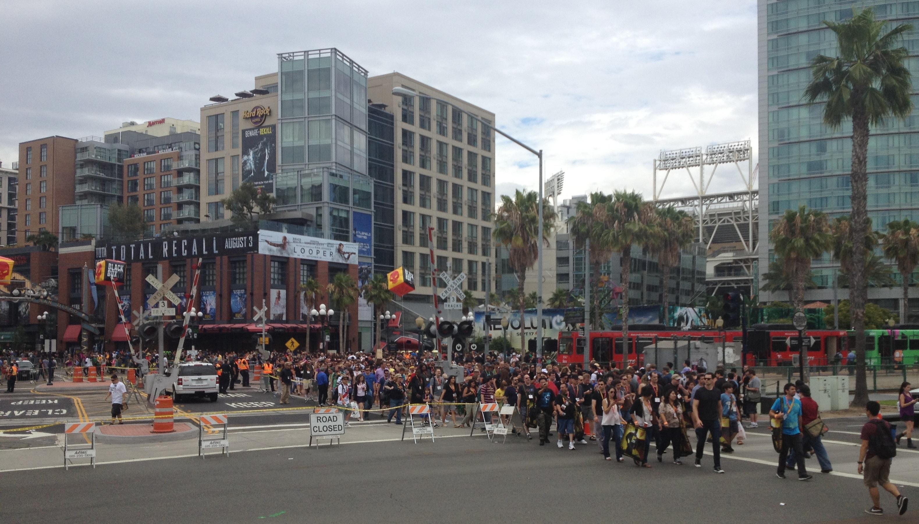 Comic Con crowds