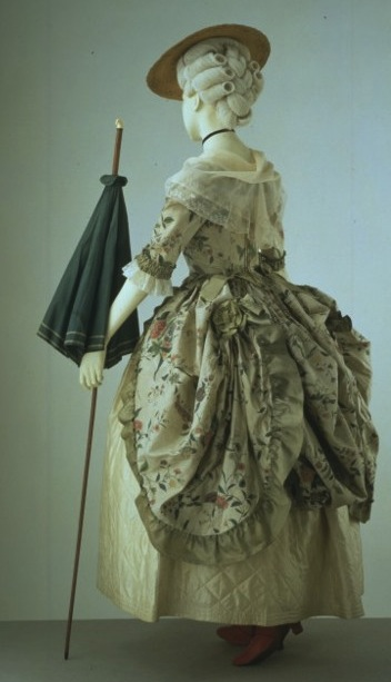 1775-1780 Robe à la Poloniase The Victoria & Albert Museum