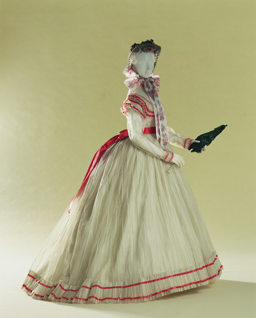 Day Dress  late 1860s  The Kyoto Costume Institute
