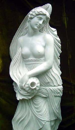20629-white-marble-angel-sculpture-1
