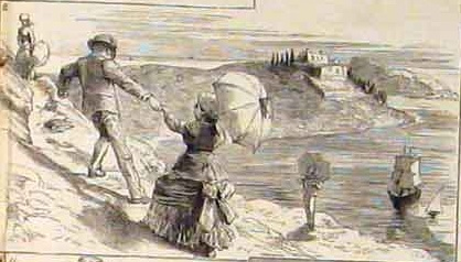 1880 Ladies Parasols Nile