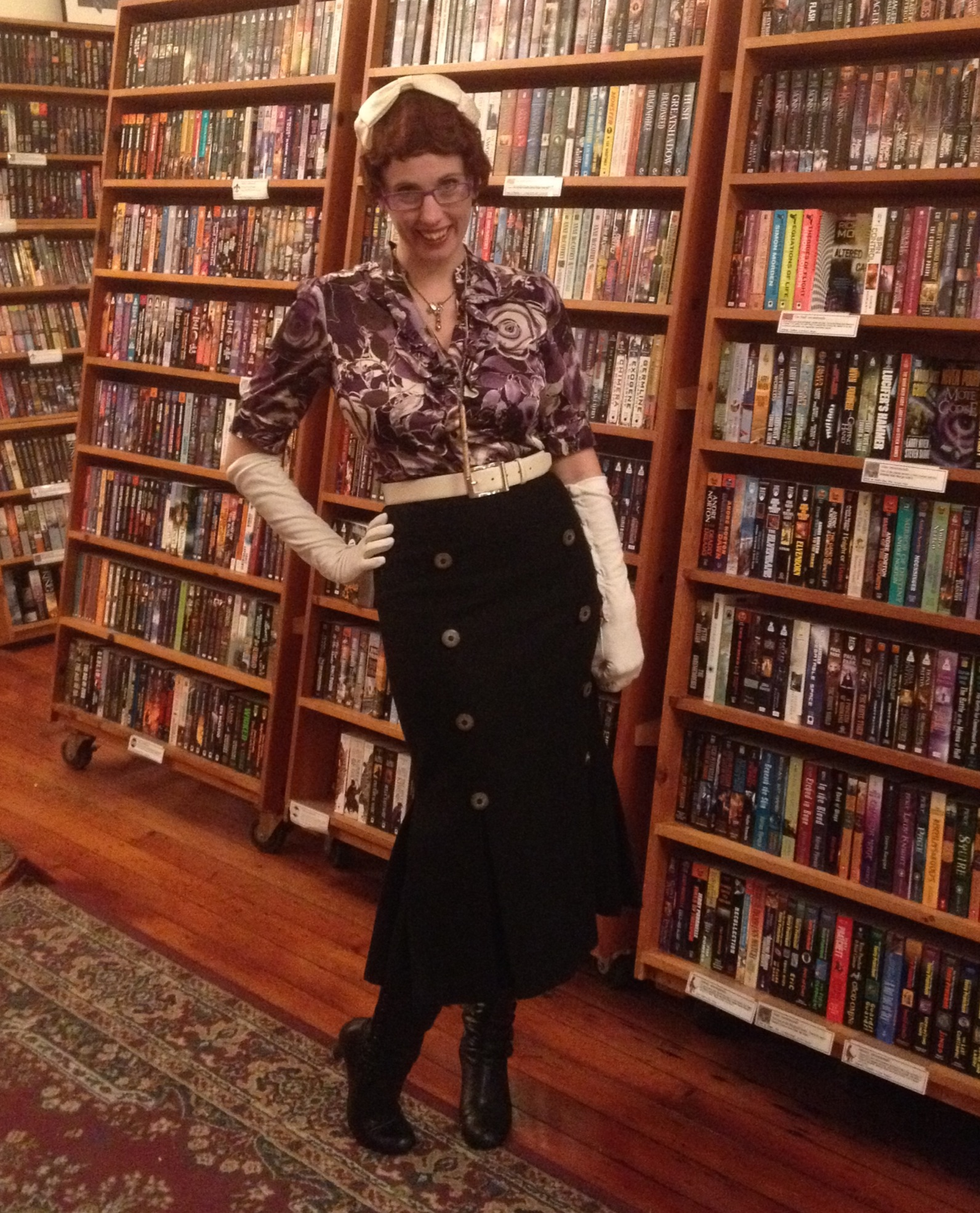 Gail at Borderlands