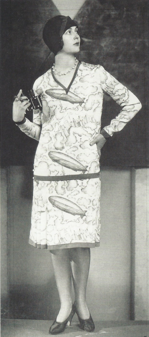 Zepplin Dress 1930s