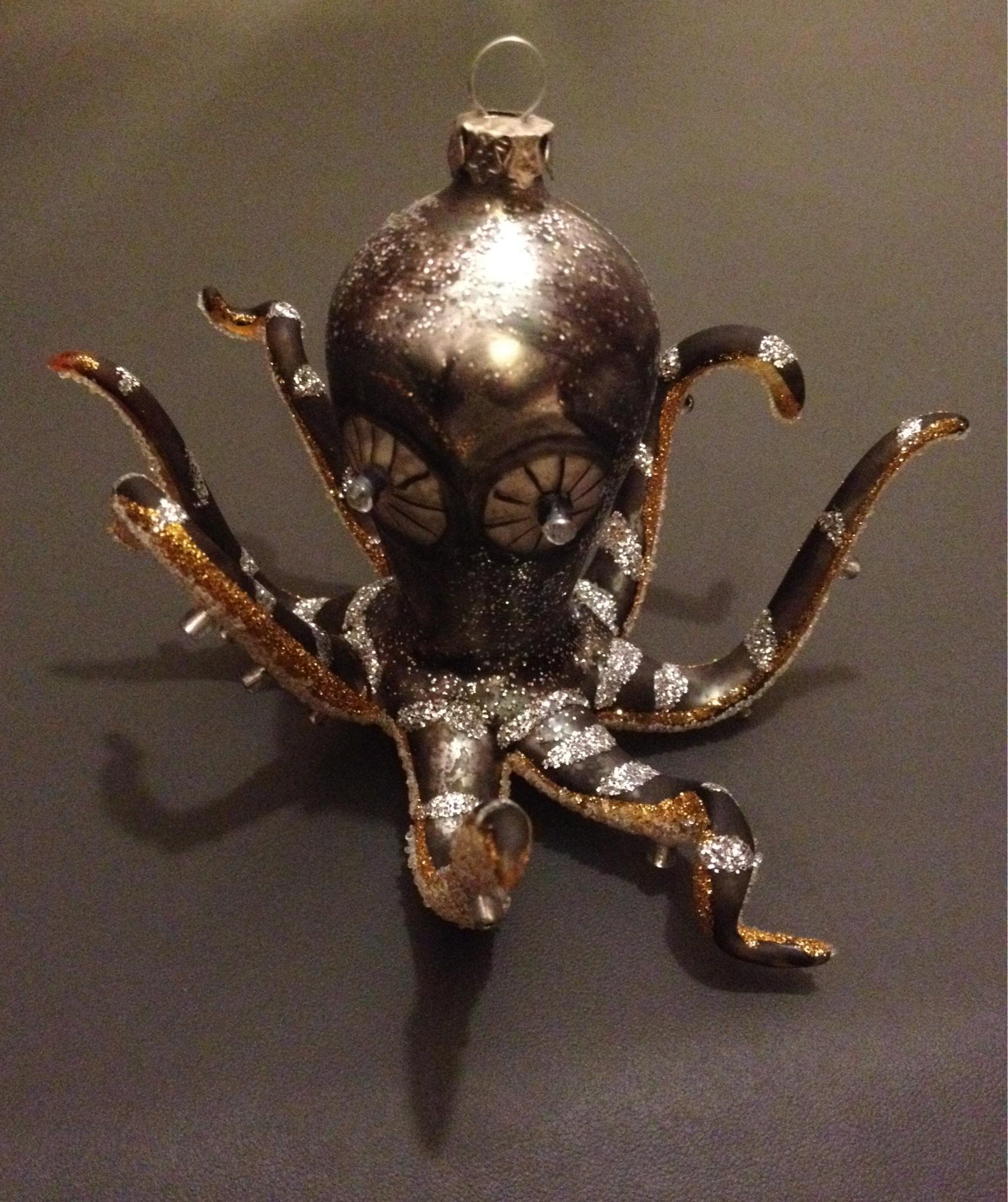 Octopus Steampunk Decoration