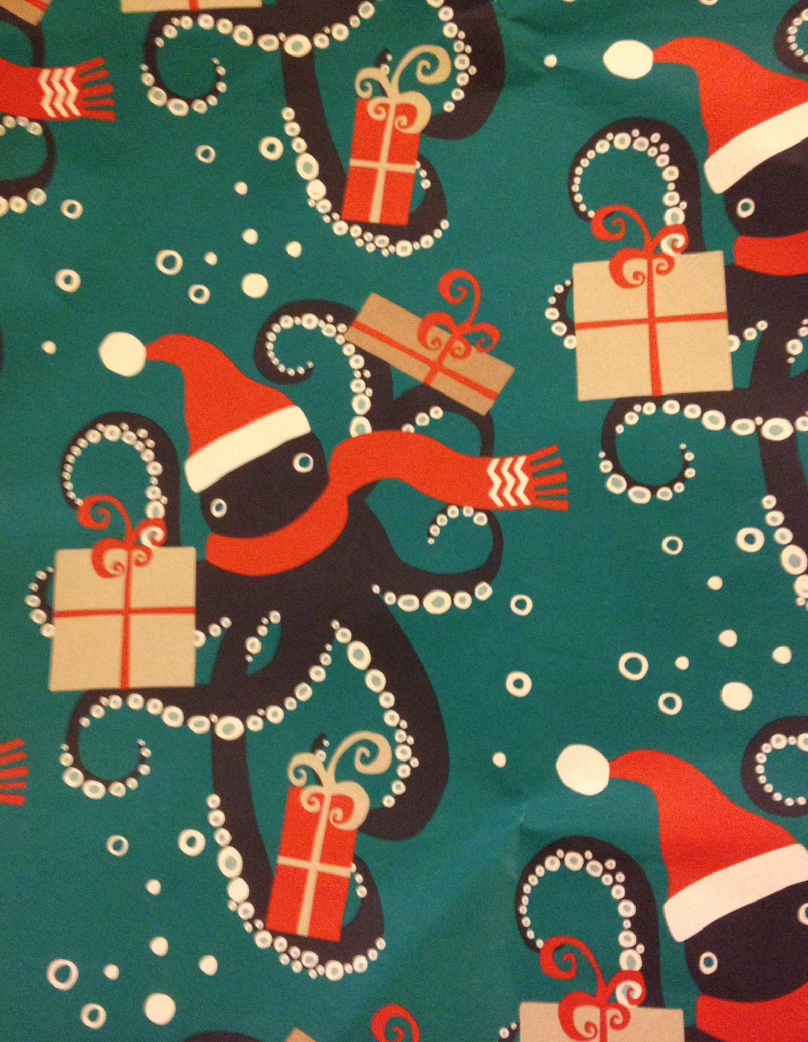 Octopus Wrapping Paper