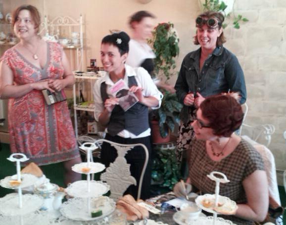 Hayward Tea Ladies Tea Signing
