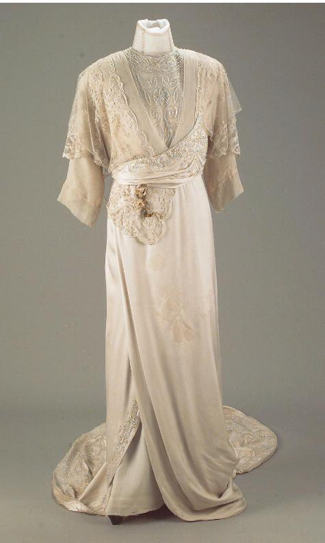 1907 wedding dresses