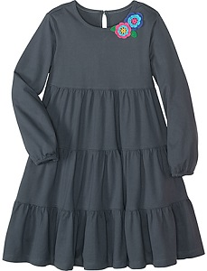 платье серое small