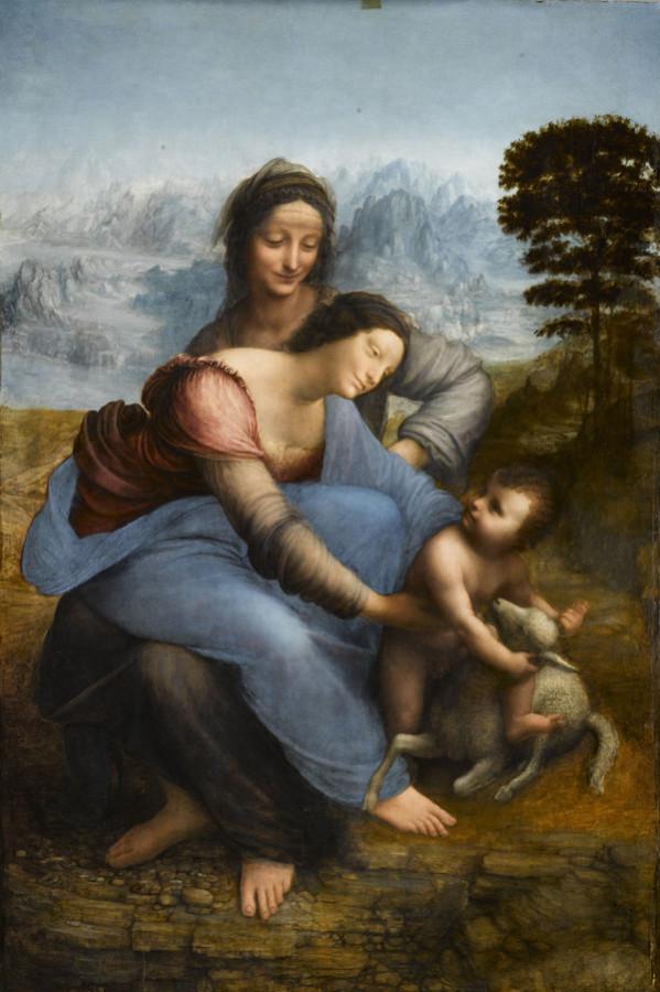 Святая-Анна-последний-шедевр-Леонардо-да-Винчи-в-музеи-Лувр-02