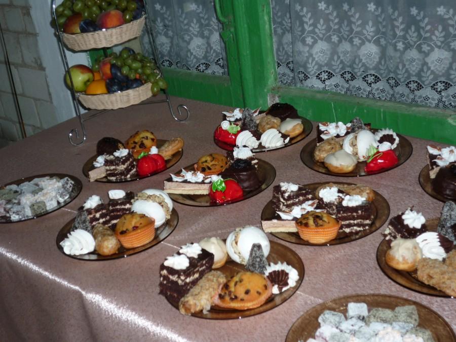 праздники сладкий стол