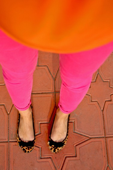 orang pink leo