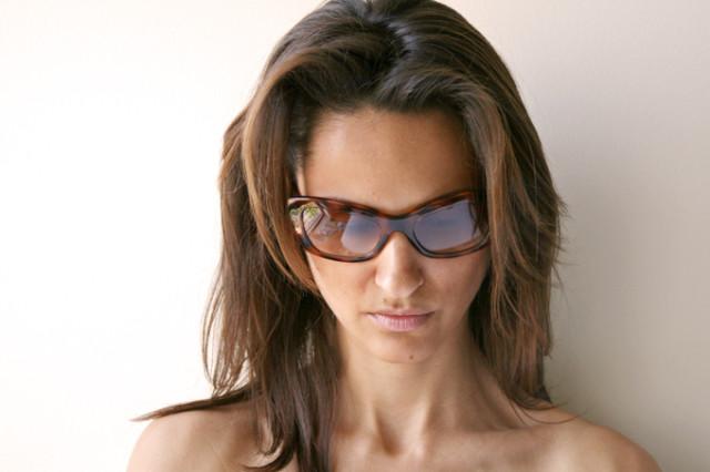 cat-eyes sunglasses