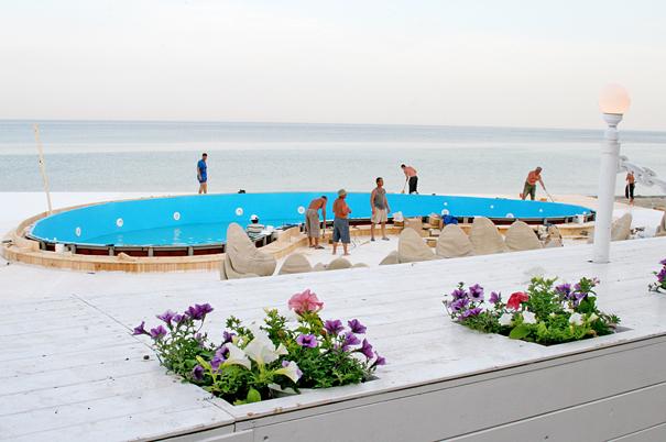Itaka, Odessa, Итака, Одесса, лето, бассейн у моря