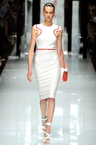 versace white look ss 2011
