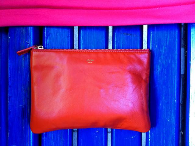 celine trio bag ss 2011, Селин сумка клатч