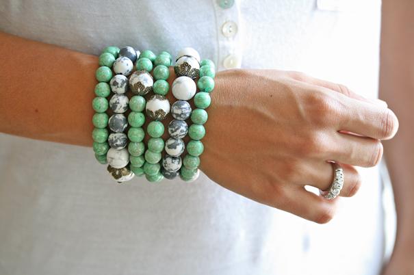 натуральные камни, браслеты, бирюза