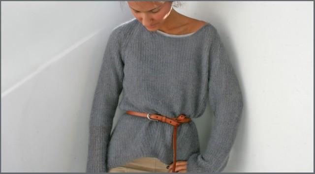 свитер Кира Пластинина